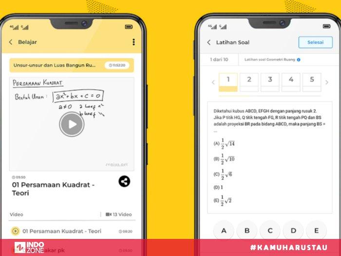 12 Aplikasi Pembelajaran Daring Online Gratis Terbaik Di Indonesia Indozone Id